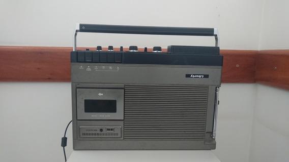 Radio Gravador Tv Liberty Sn-500a Vintage Portátil