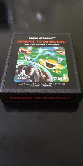 Cartucho Atari 2600 Demons To Diamonds