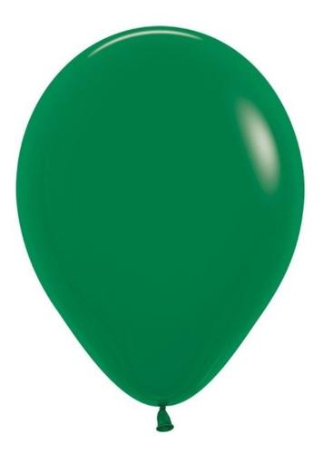 Globos R-12 Fashion Verde Selva - Sempertex X 50