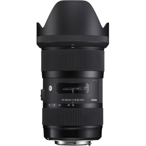 Imagem 1 de 6 de Lente Sigma 18-35mm F/1.8 Dc Hsm Para Nikon - Lj. Platinum