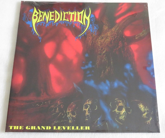 Benediction The Grand Leveller Lp Red/ Blue Subconscious