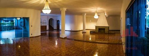 Imagem 1 de 30 de Casa Com 4 Dormitórios, 580 M² - Venda Por R$ 2.600.000,00 Ou Aluguel Por R$ 12.500,00/mês - Parque Taquaral - Campinas/sp - Ca2583