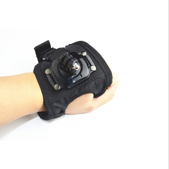 Luva Suporte Alça 360 Mão Pulso Gopro Go Pro Hero 3+ 4 5 6 7