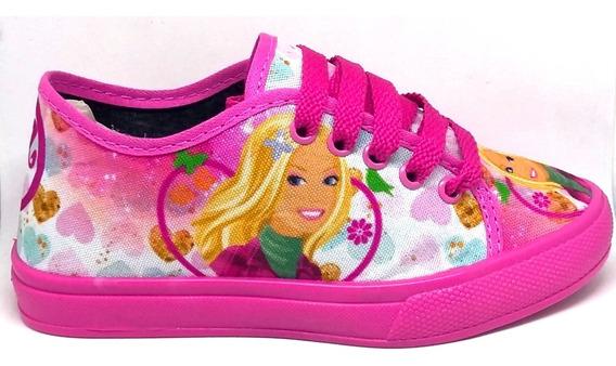 Tênis Barbie Infantil Princesa Menina Sem Luz Led Promoção