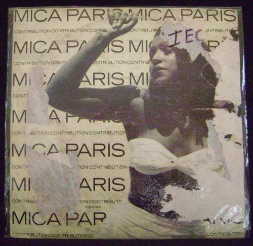 Mica Paris-contribution-lp Vinilo Nacional-
