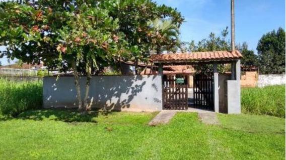 Casa Lado Praia Com Quintal Amplo Em Itanhaém Litoral Sul Sp