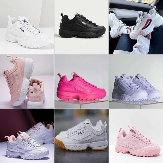 *~* Zapatos Fila Disruptor 2 Para Niños Y Adultos *~*
