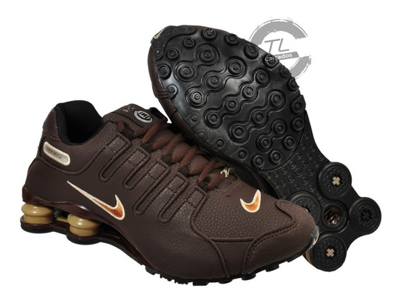 Tênis Nike Sxhox Nz Eu Couro Amortecedor Caminhada Corrida