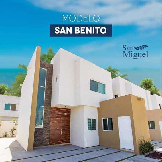 Hermosa Casa De Dos Plantas !! Residencial San Miguel !
