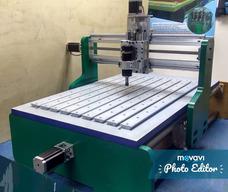 Maquina Cnc: Fabricación De Fresadoras Control Numerico