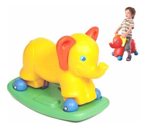 Pata Pata Elefante Trompita Vegui 2 En 1 Mecedor + Andador