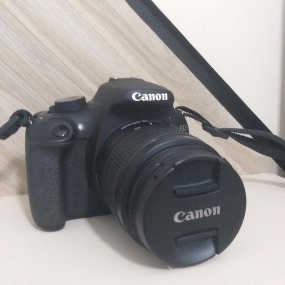 Câmera Canoneos Rebel T5+lente Canon Ef-s 18-55mm Iii