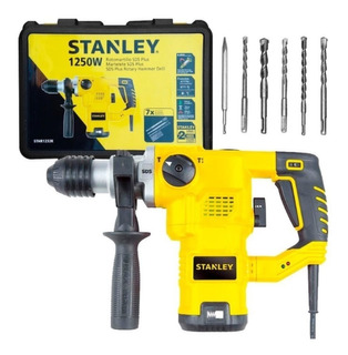 Rotomartillo Taladro Percutor Stanley 1250w Sthr1232k + Acc