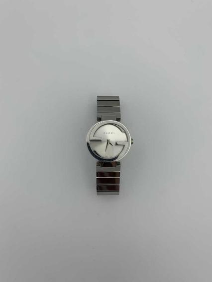 Relógio Prateado Gucci