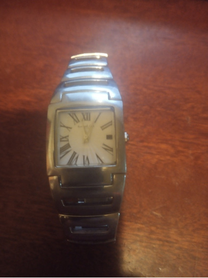 Reloj Kenneth Cole New York Acero Inoxidable Fechador