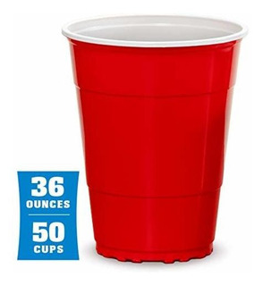 Gobig Giant Red Party Cups Packs With 4 Xl Pong Balls Pick 1