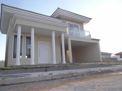 Linda Casa De Alto Padrão Situada No Condomínio Vale Dos Cristais 5, Próximo Da Portaria E Comercio, Macaé/rj - Ca0269