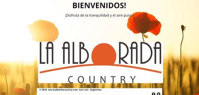 Excelente Terreno En La Alborada Country -- San Luis