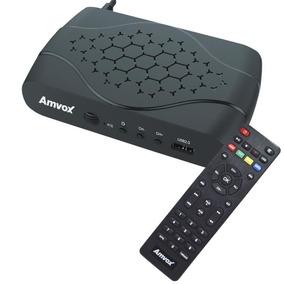 Receptor Conversor Tv Digital Hd Função Gravador Usb Bivolt