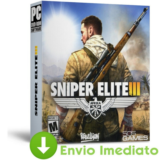 Sniper Elite 3 Pc Todas Dlc