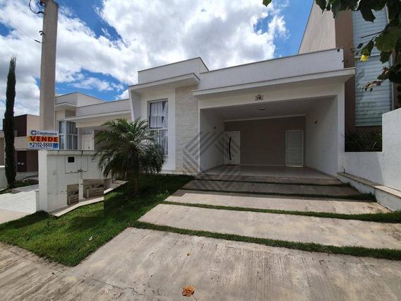 Casa Com 3 Dormitórios À Venda, 127 M² Por R$ 520.000,00 - Condomínio Villagio Milano - Sorocaba/sp - Ca2125