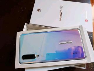 Celular Huawei P30 Azul, Excelentes Condiciones 8475 Sin Msi