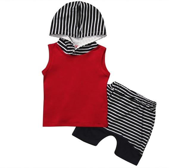Moda Infantil Conjunto Menino Bebê Roupas Criança 6 Meses A 6 Anos Modelo Camiseta E Bermuda Super Estiloso