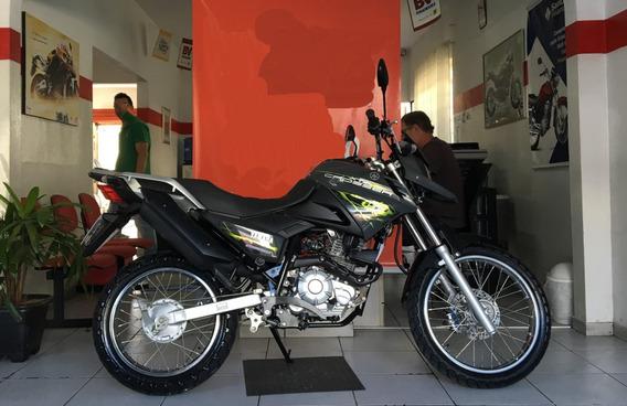 Yamaha Xtz 150 Crosser Preta 2015