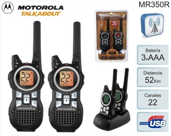 Rádio Portatil Motorola Mr-350rpp 35 Millas