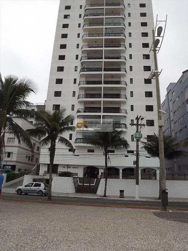 Apartamento A Venda Frente Para O Mar Praia Grande - V3517