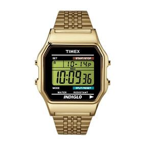 Relógio Timex Heritage Retrô Dourado