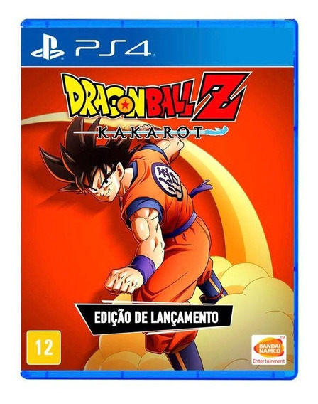 Dragon Ball Z: Kakarot Ed Ps4 Mídia Física -lacrado