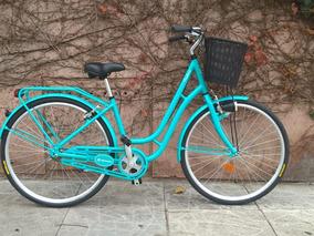 Bicicleta Dama Retro Vintage Fontana 2018