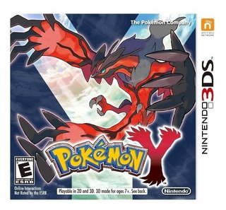 Pokemon Y De Nintendo 3ds Usado