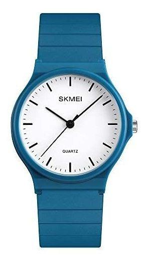 Reloj Skmei Analógico Azul Deportivo Y Casual