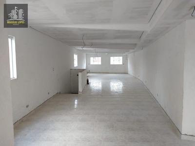 Sala Comercial 100 M² Vão Livre Próx Terminal Sacomã | M1041