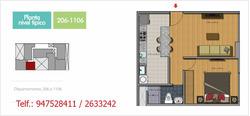 Alquiler De Dpto 45m2 San Miguel S/ 1,200