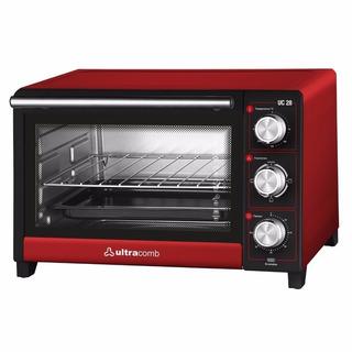 Horno Eléctrico Ultracomb 28 Lts 1500 W Cocina Rico Y Sano