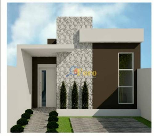 Casa Com 2 Dormitórios À Venda, 70 M² Por R$ 385.000,00 - Jardim Ipê - Itatiba/sp - Ca1002