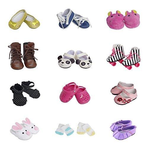 5 Pares De Zapatos 2 Pares De Calcetines Para Zapatos De Muñ