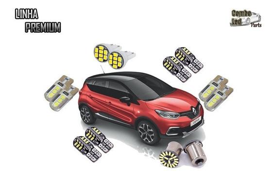 Kit Lâmpadas Led Premium Renault Captur - Efeito Xenon