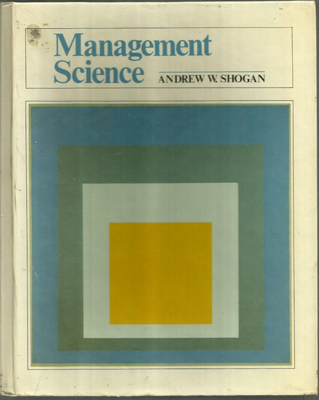 Management Science - Andrew Shogan
