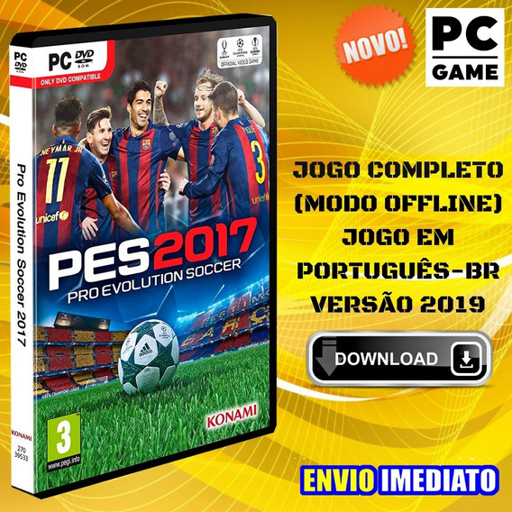 Pes 2017 - Pc Game - Português - Envio Digital