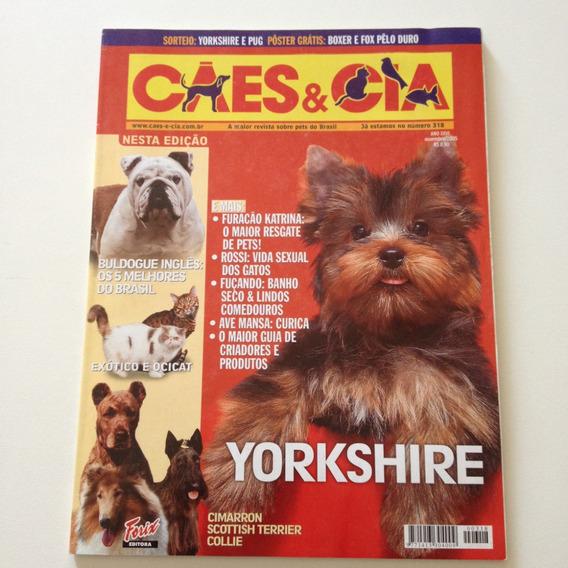 Revista Cães E Cia Yorkshire N°318 D555