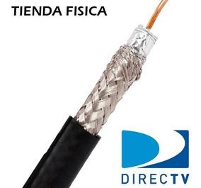 Cable Coaxial Rg6 Television Cable Directv Precio 4 Metros