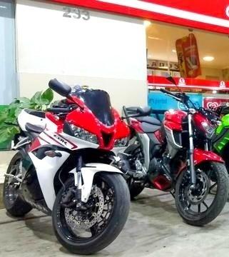 Cbr 600rr Moto Extra Conservada Akrapovic Ful Racing Carbono