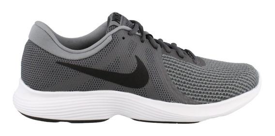 Tenis Nike Revolution 4 Gris Running 908988 010