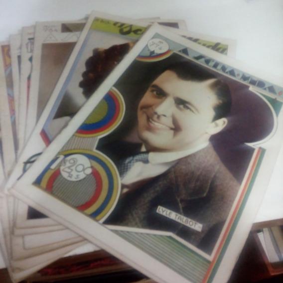 A Scena Muda Ano 1936 Pacote Com 9 Revistas