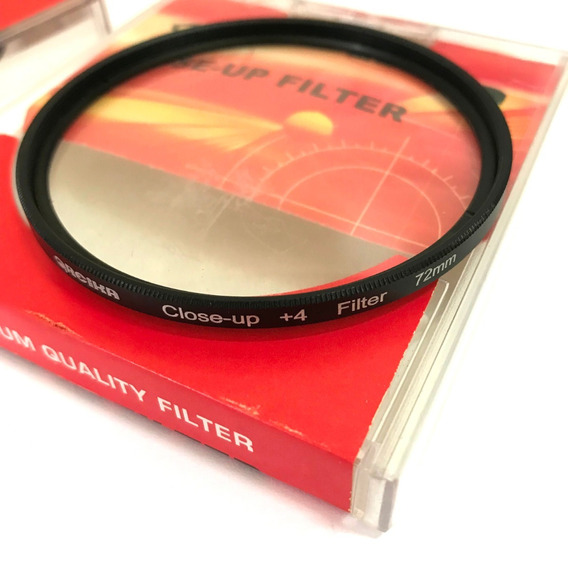 Filtro Close Up 72mm +4 Greika Close Up Fotografia Macro