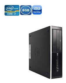 Pc Hp 8300 Sff I7 8gb Hd 500gb + Wi-fi + Kit Tecl E Mouse